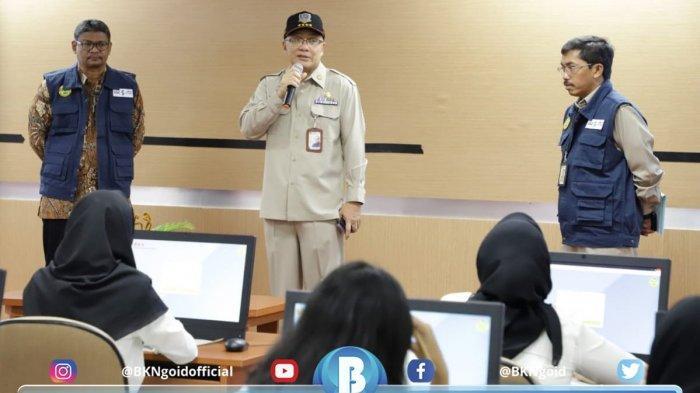 Hari Pertama Pelaksanaan SKD CPNS 2019, Kepala BKN Imbau Agar Peserta Memanajemen Waktu Dengan Baik