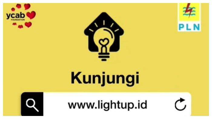 Hari Terakhir Dapat Diskon Listrik bagi Pelanggan PLN 900 VA-1300 VA, Login di www.lightup.id