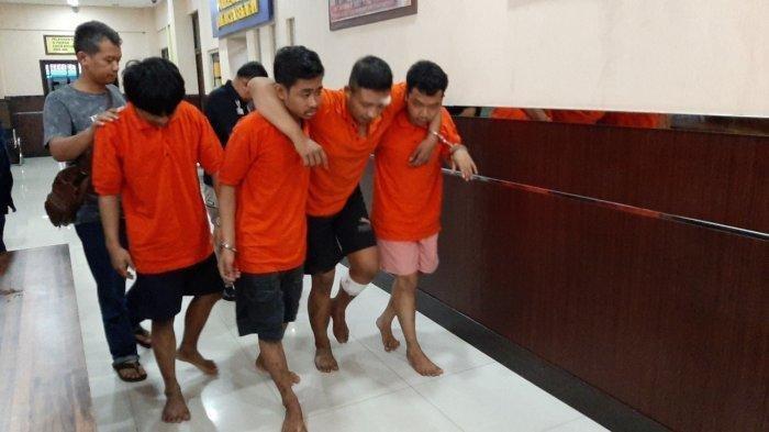 Melawan saat Hendak Ditangkap, Satu Pelaku Begal di Warteg Ditembak Polisi