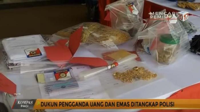 Polisi Gerebek Ritual Penggandaan Uang di Tegalalang Ubud, Ada Uang Rp 125 Juta dan Detergen