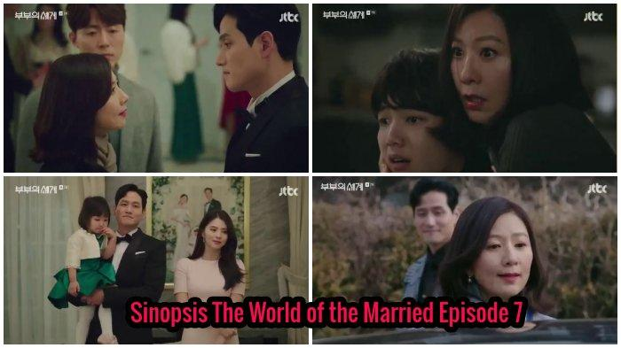 Sinopsis Lengkap Drama Korea The World of the Married Episode 7: Tae Oh Kembali untuk Balas Dendam?