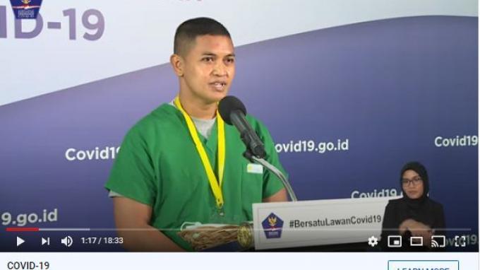 Lepas Rindu melalui Video Call Tenaga Medis di Wisma Atlet Tak Bisa Pulang karena Tangani Covid-19