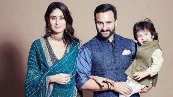 Lihat Fotonya Kini Taimur Ali Khan Putra Kareena Kapoor & Saif Ali Khan Makin Besar Makin Tampan