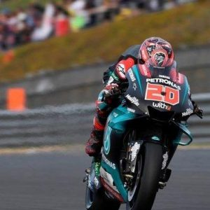 Quartararo Pole Position Ramai Soal Marquez Gagal Start Hasil Kualifikasi MotoGP Andalusia