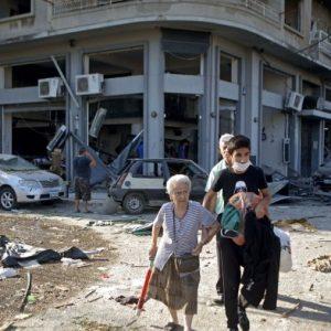 Rumah Sakit Kewalahan Hingga Demo Tuntut Pemerintah Mundur Pecah Dampak Ledakan di Lebanon