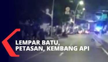 Tawuran Malam Takbiran Terjadi di Matraman Jakarta